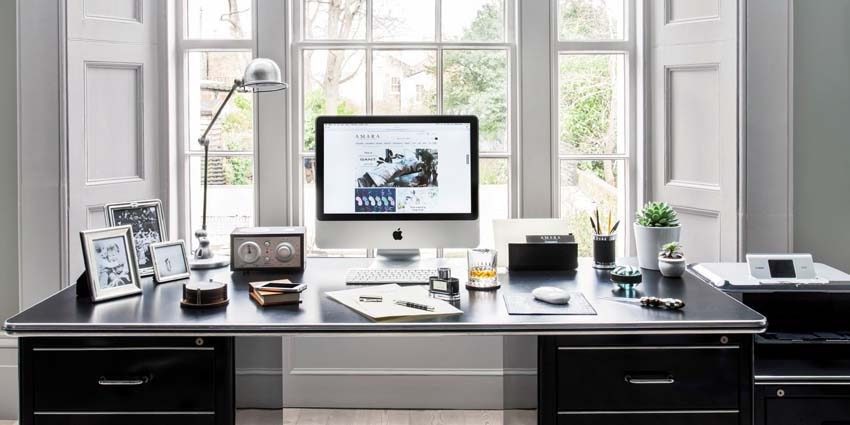 Small Home Office and Desk Lighting Ideas
