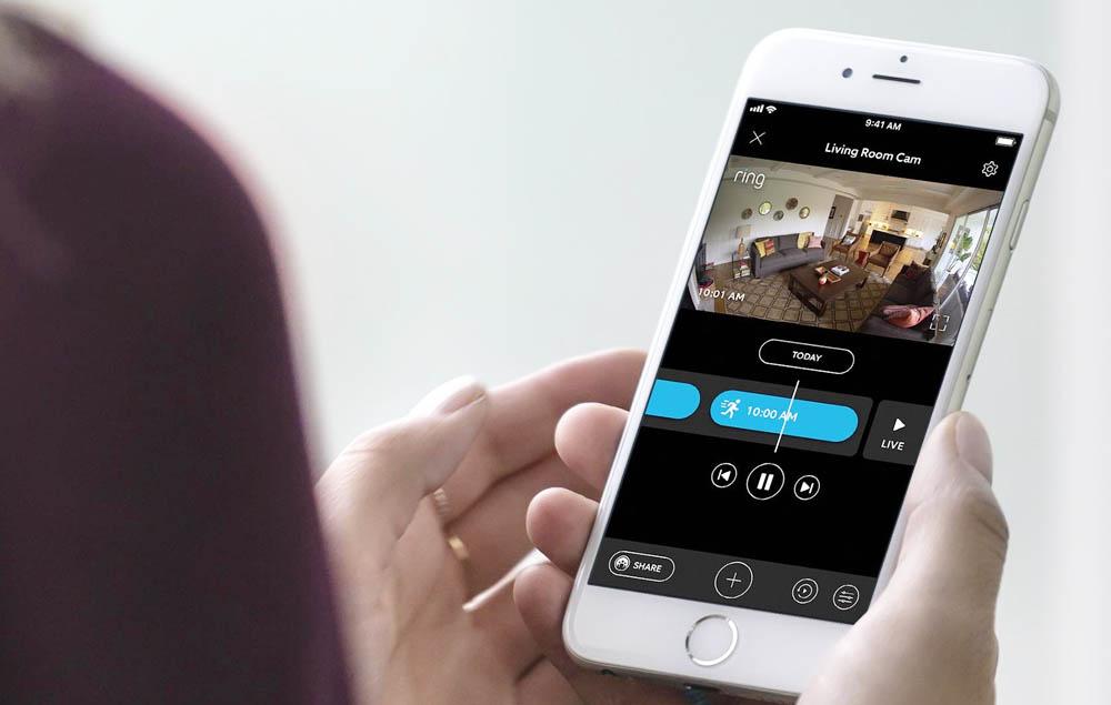 The Ring Camera App