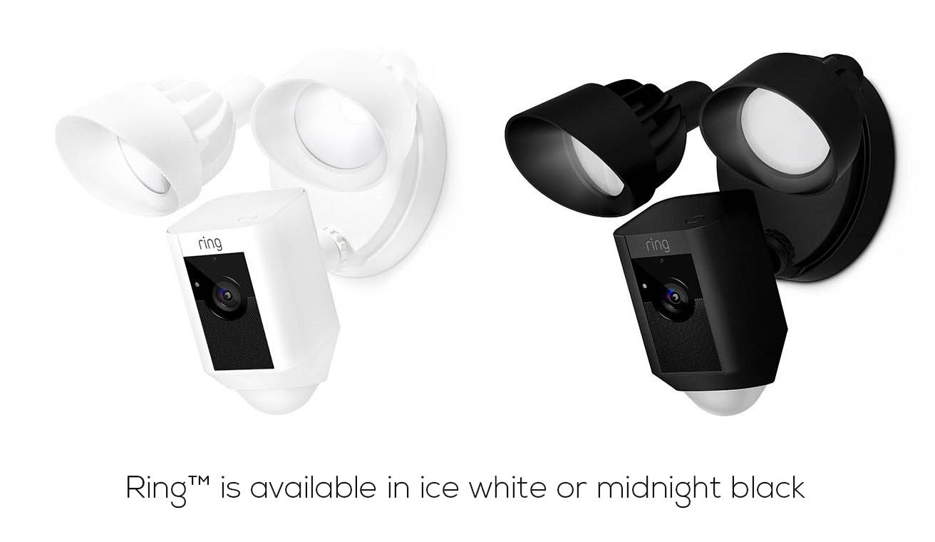 The Ring Floodlight Camera Color Options