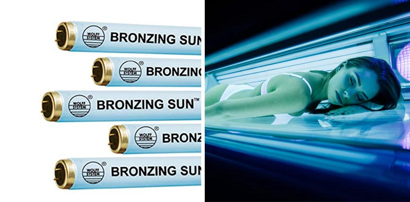 Wolff Bronzing Sun Plus F71 100W Bi-Pin Tanning Bed Light Bulb