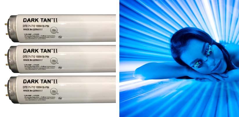 Wolff Dark Tan II F71 100W Bi Pin Tanning Lamp