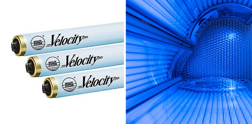 Wolff Velocity F71 100W Bi Pin Tanning Lamp