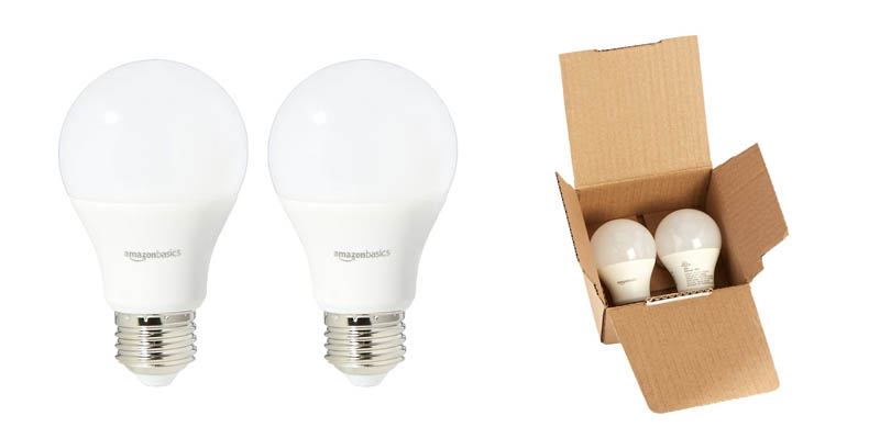AmazonBasics Super Bright Dimmable LED