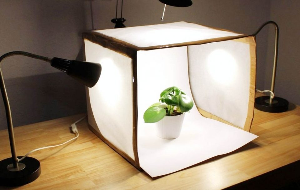 How To Build A Diy Light Box For Product Photography With