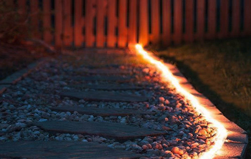 LED Rope Light Path Lighting