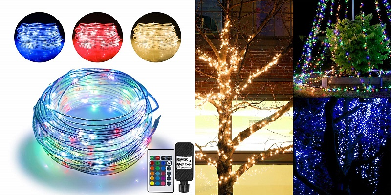 Omika 16 Colors Ultra Thin Bendable Fairy Light