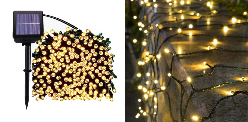Supsoo Solar Christmas Fairy Lights