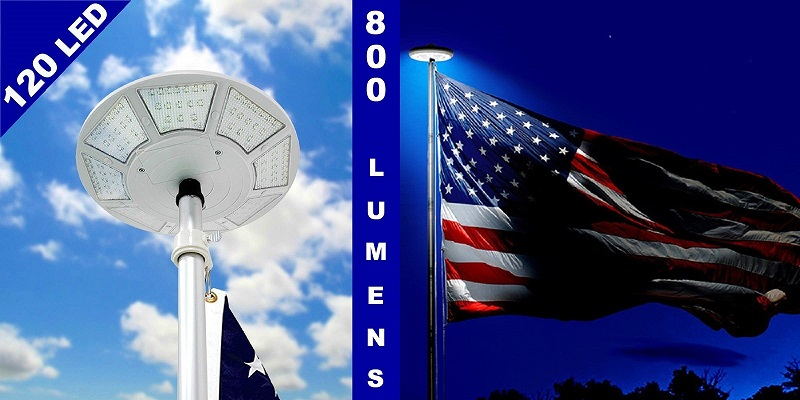 Telepole-Manufacturing-Inc-New-Solar-Flagpole-Light