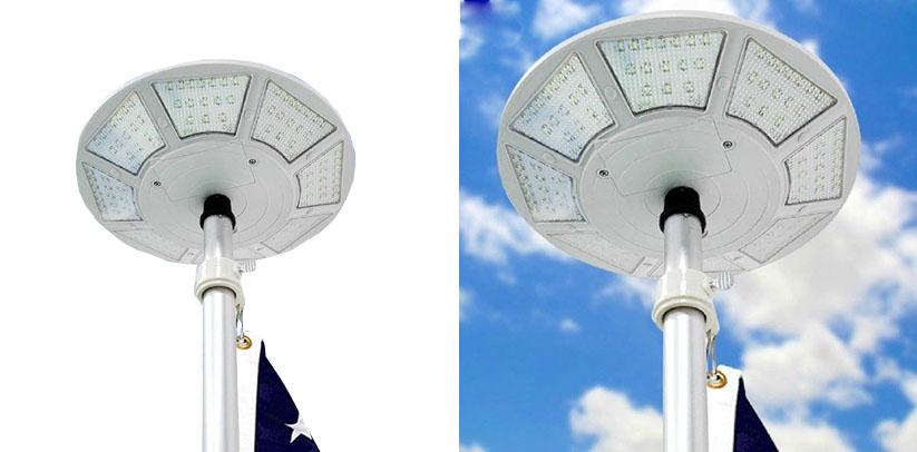 Telepole Manufacturing Inc Updated Solar Flagpole Light