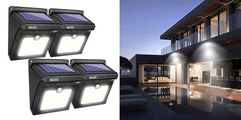 BAXIA TECHNOLOGY BX-SL-101 Solar Lights Outdoor
