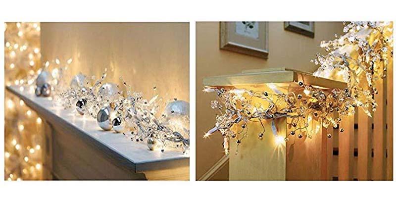 GE Glitter Gem Garland Christmas Holiday Lights