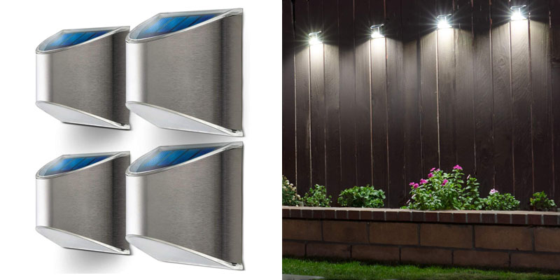 Home Zone Security Solar Wall Lights