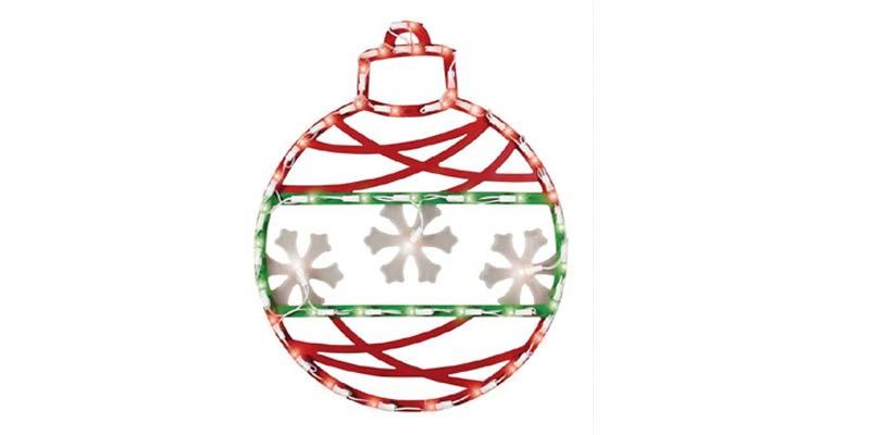 Northlight Seasonal Christmas Ornament Window Decoration