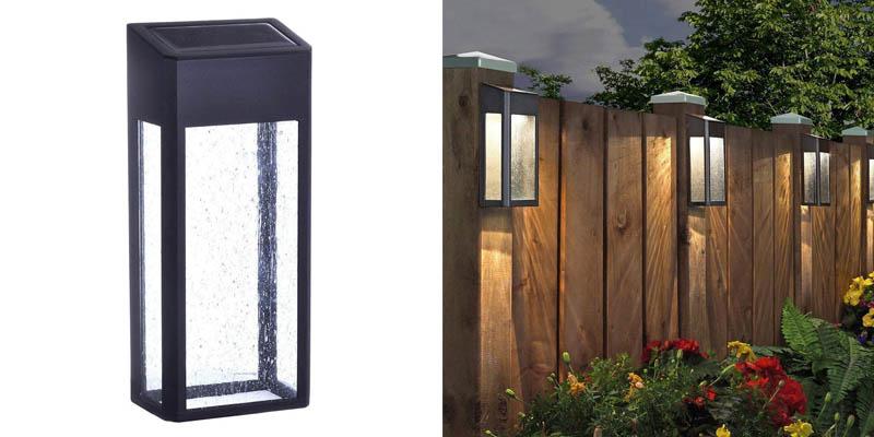 Paradise Solar 4 LED Accent Fence Lights