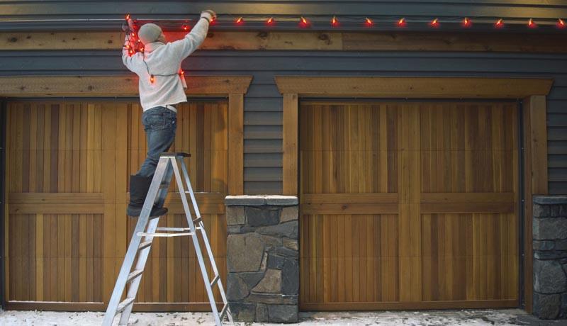 Preparing for Hanging Christmas Lights