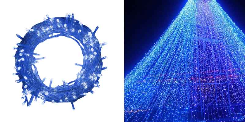 Twinkle Star 33FT 100LED Indoor String Lights Blue