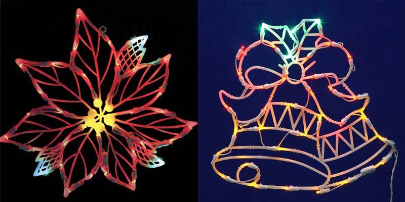 Vickerman LED Poinsettia Flower_1