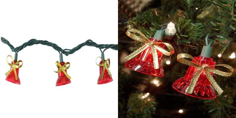 Northlight Musical Bell Multi-Function Christmas Lights