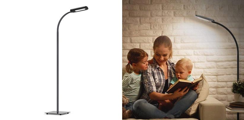 LED Floor Light, TECKIN Reading Standing LED Lamp