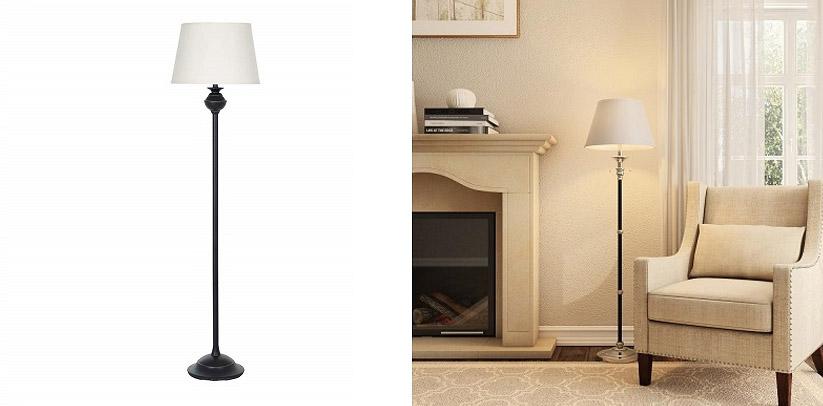 Ravenna Home Metal Standing LED Lamp